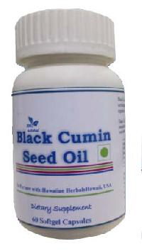 Hawaiian herbal black cumin seed oil capsule