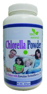 herbal chlorella powder