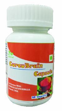 Herbal Curcubrain Capsules