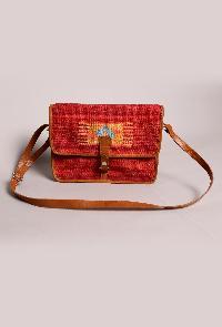 Alak Hand-woven Punja Dhurrie Bag