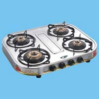 Four Burner LPG Gas Stoves