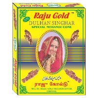 raju gold mehandi cone