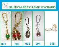 Brass Lamp Keychains