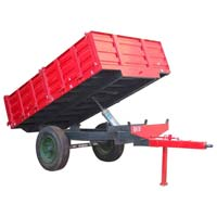 Hydraulic Tractor Trolley