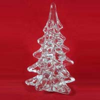 Glass Christmas Tree