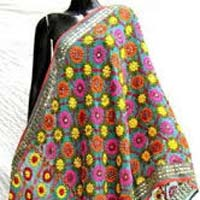 Computerized Embroidered Dupatta