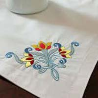Computerized Embroidered Table Runner