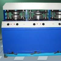 3 Die Semi Automatic Areca Leaf Plate Making Machine