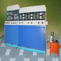 7 Die Semi Automatic Areca Leaf Plate Making Machine