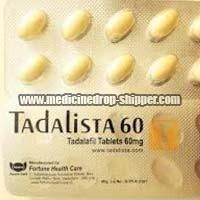Tadalista 60mg Tablets