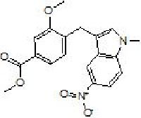Methyl 4-(5-nitro-1-methyl Indol-3-yl Methyl)-3-methoxy..
