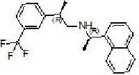 (R)-N-((R)-1-(naphthalen-1-yl)ethyl)-2-(3-(trifluoromethyl)phenyl)propan-1-amine