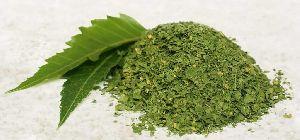 Dried Neem Leaf Powder