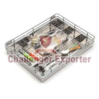 Kitchen Perforated Cutlery Basket