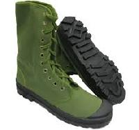 Canvas Jungle Boots