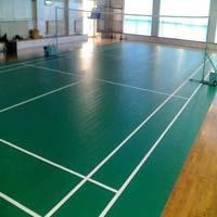 Badminton Pvc Synthetic Floorings
