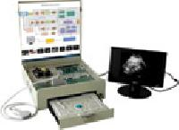 Working Of Medical Ultrasound Machine - Trainer Kit