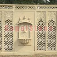 Carved Stone Wall Panels