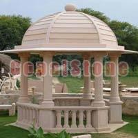 Garden Stone Gazebo