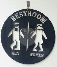 Restroom Wall Sticker