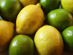 Green lime and Yellow Lemon for sale