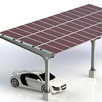 Solar Carport Mounting Structure