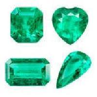 Heart Shaped Emerald Stones