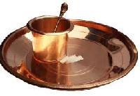 Copper Pooja Plates