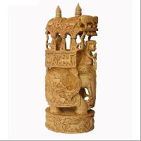 carved wooden handicrafts
