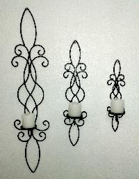 Iron Wall Candle Sconces