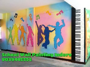 School Wall Painting Services