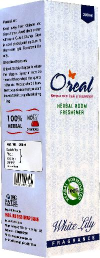 White Lily Oreal Room Freshener