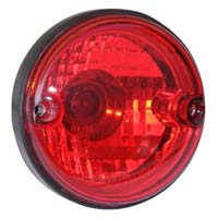 Aux-20 Round Mfr Red Tail Lamp