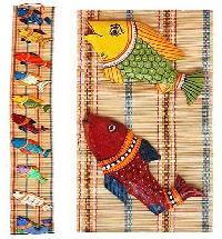 bamboo wall hangings
