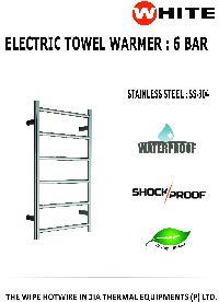 Electric Towel Warmer 6 Bar