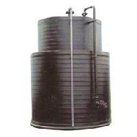 pp vertical spiral storage tank