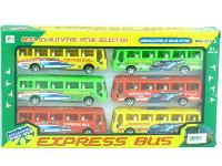 Friction Toy Bus