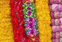flowers garlands
