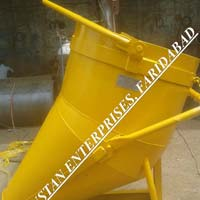 Concrete Banana Bucket, Side Discharge Concrete Bucket