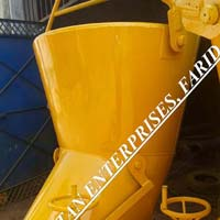 Material Controlled Concrete Bucket of Tower Crane