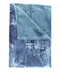 Jean Pattern Baby Blanket