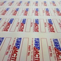 Aluminium Printed Label & Tags