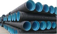 HDPE Double Wall Corrugated Structured-Wall Pipes