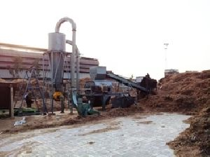 Biomass Grinding Plant