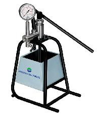 Manual Hand Operated Hydro Testing Pump