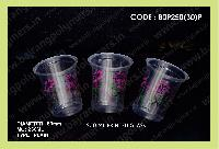 Plastic Disposable Printed Glass