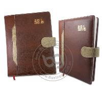 Leather Magnet Lock Diaries