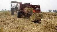 Paddy Straw Baling Machine