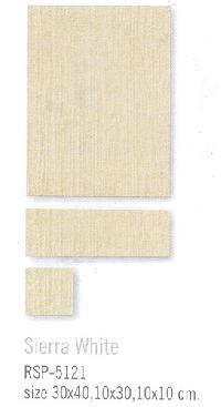 Sierra White Floor Tiles