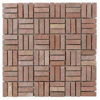 Fire Brick Mosaic Tiles